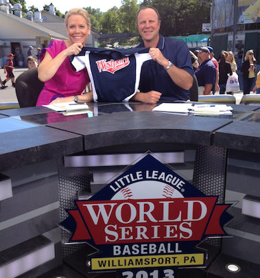 Photo of SportsCenter anchor Chris McKendry will have unique perspective on Westport, Conn. team at Little League World Series