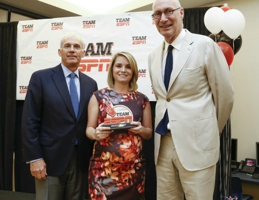 Photo of 2016 ESPN Volunteer of the Year Awards